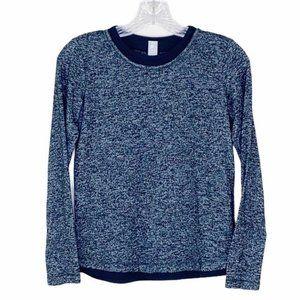 Athleta Girl Gray Long Sleeve Soft Knit Top